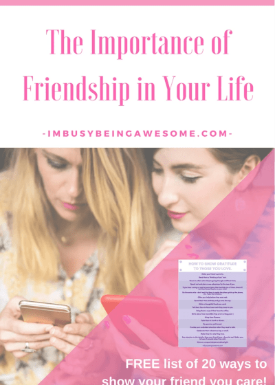 The Importance of Friendship in Your Life