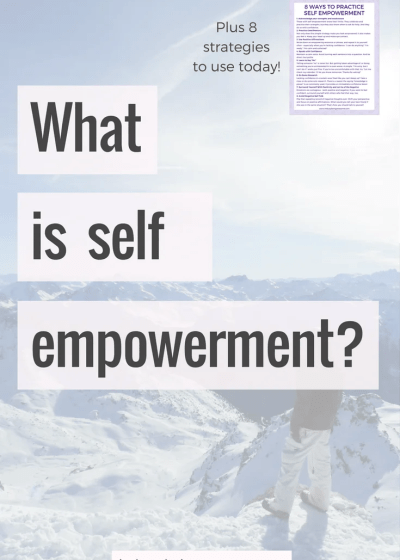 What is self empowerment?