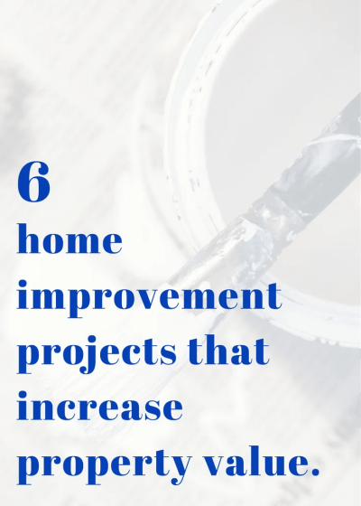 "6 answers to ""what home improvement projects increase property value?"""