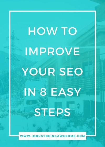 8 easy tips to improve SEO for your blog or website