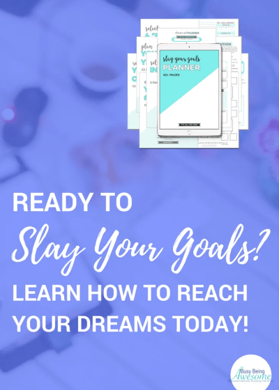 New Year's Resolution Check in: Slay Your Goals Planner