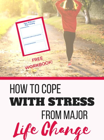 5 Ways to Reduce Stress From a Major Life Change. Stress management, anxiety, mental health, happiness, work life balance #Stressmanagement #anxiety #mentalhealth #happiness #worklifebalance