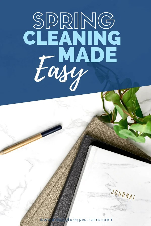Are you ready to start your spring cleaning? Check out my top tips for a deep clean of your house: bedroom, bathroom, kitchen, family room, etc. Take the challenge and declutter, organize, and clean your home in one day! #springcleaning #hacks #checklist