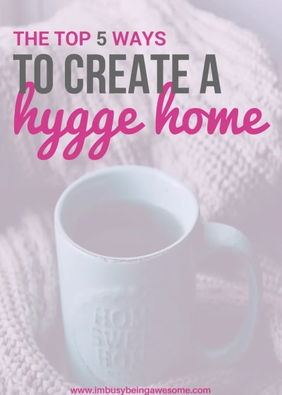 Creating a Hygge Home