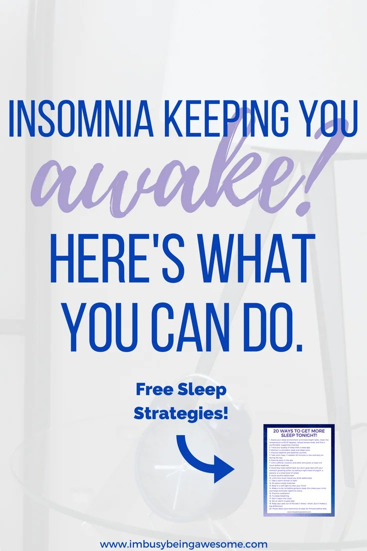 can't sleep? here's why insomnia might be keeping you awake | i'm