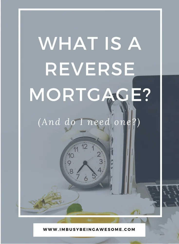 What Is A Reverse Mortgage and Should I Consider One? Home mortgage, mortgage questions, reverse mortgage, home loan, #finances #homebuyer #retirement #mortgage