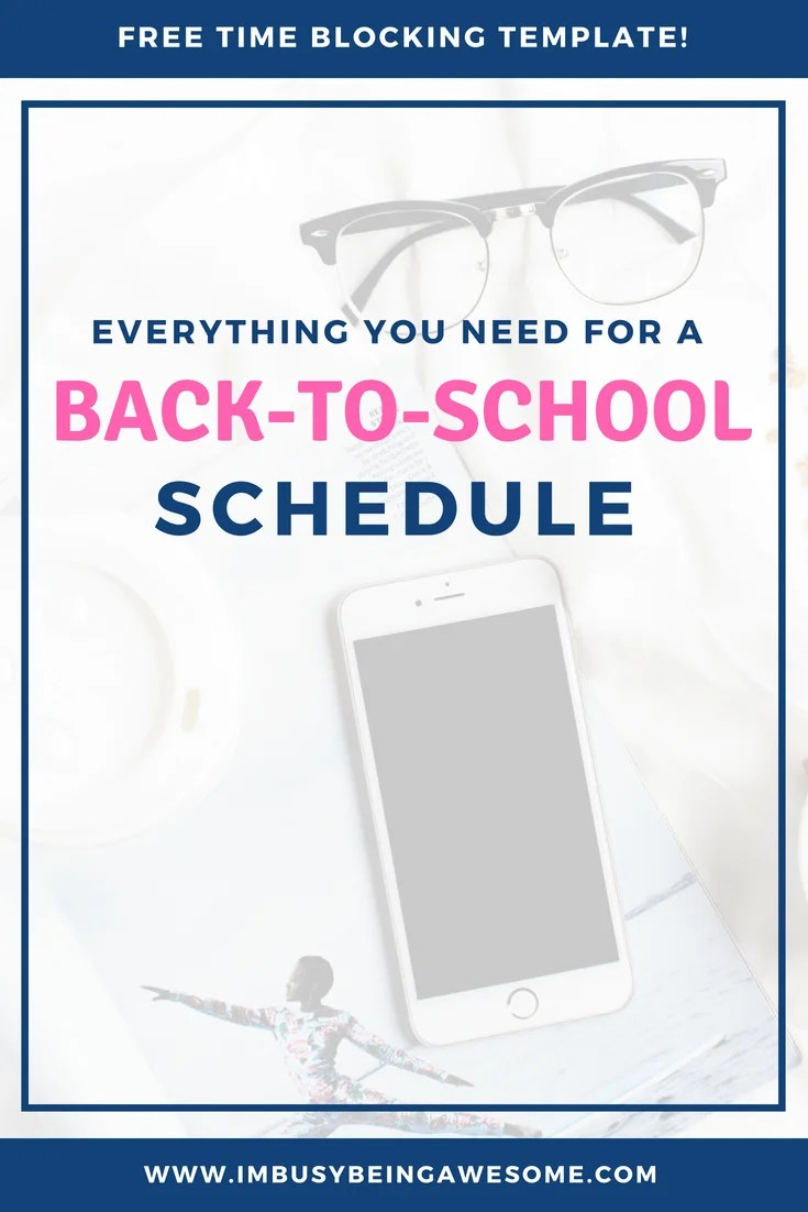 How to Create a Schedule and Follow it (3 Easy Tips) Are you ready for back to school? Are you worried about sticking to a schedule? Are you ready to crush your to-do list and get organized? Then this is the post for you. #organization #backtoschool #schedule #bulletjournal