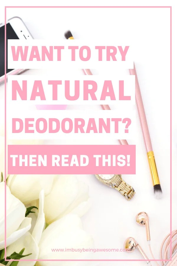 The Best Natural Deodorants for Women (that really work!) Are you ready to start living a healthy, clean lifestyle? Do you want tips and ideas for natural living? Start with natural deodorant that actually works! Learn why you should make the switch and which brands are best for sensitive skin and for sweat. Learn which drugstore brands are winners and whether you should choose one with baking soda or not. #cleanliving #healthyliving #deodorant #beautyproducts