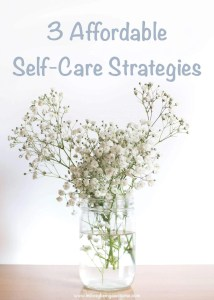 Affordable Self-Care Ideas
