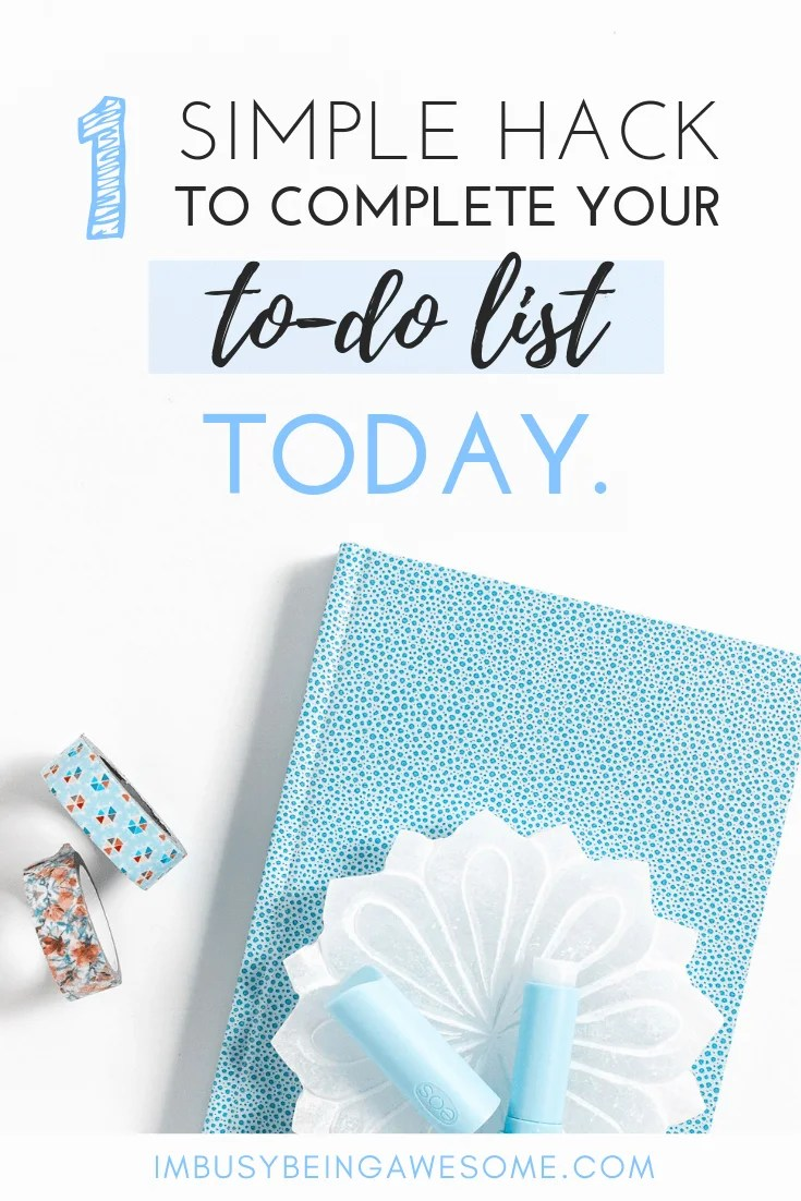 A Simple Hack to Boost Motivation and Complete Your To-Do List
