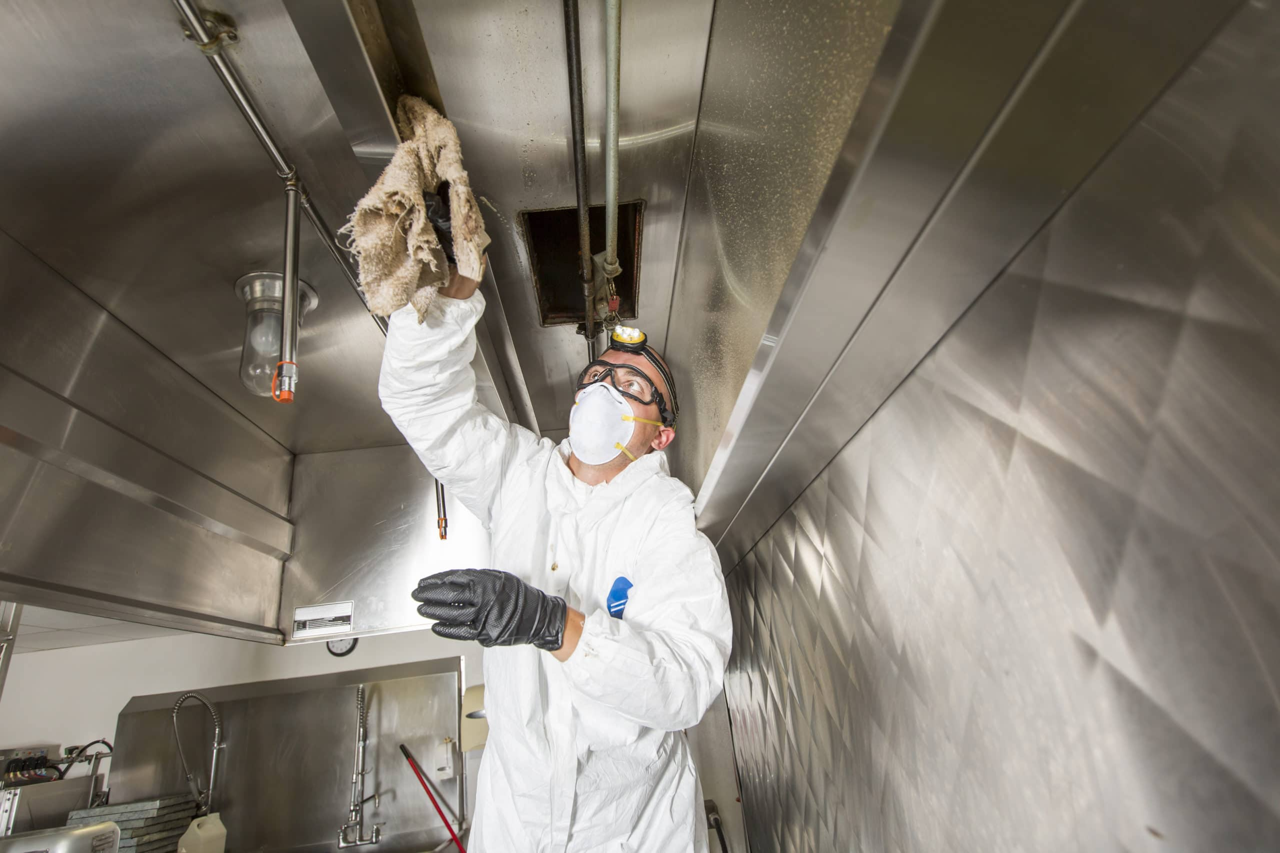 kitchen hood exhaust cleaning