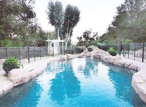 executive retreat pool
