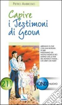 La comprensión de los Testigos de Jehová libro Ambrosio Pietro