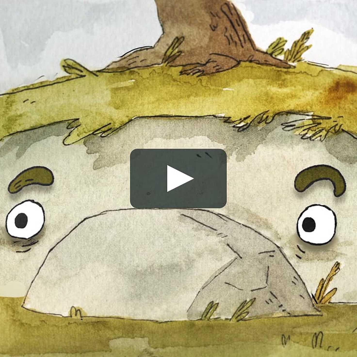 An object at rest cartoon vimeo