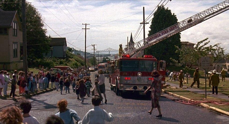 Kindergarten Cop Fire Scene