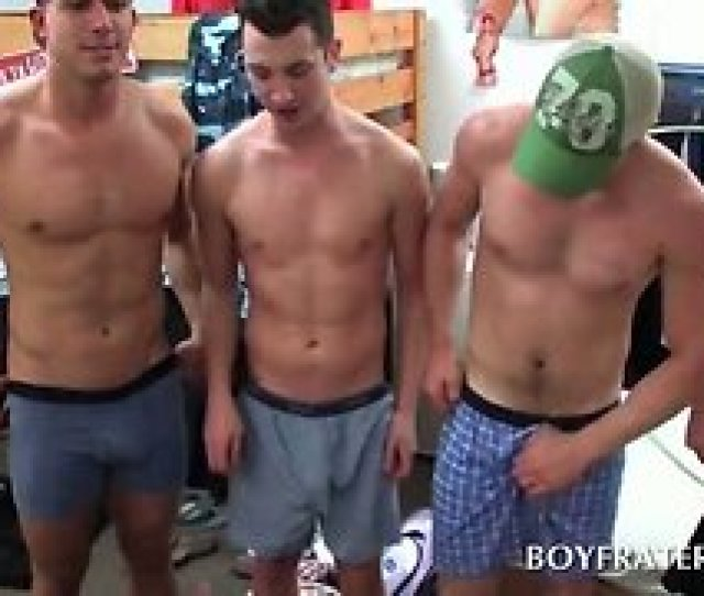 College Boys Rubbing Gay Dicks At Fraternity Sex