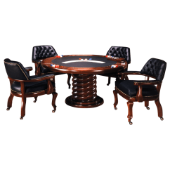 Poker Chairs With Casters Ergonomic Chair Pillow T8193 Dining Table C8339 4lc Caster Im David