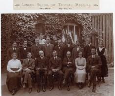 School staff, 1917
