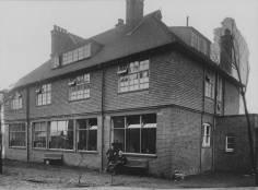 The School building, c1900