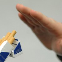 Detoxification after quitting cigarette smoking