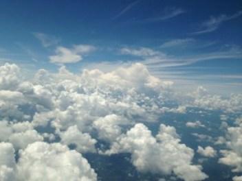 上からの雲2