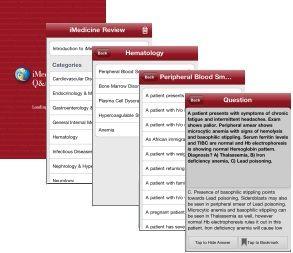 Screenshots for iMedicine Review Q&A1500 Application