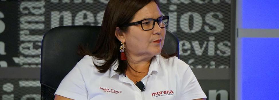 'Hemos encontrado el hartazgo de la gente y su deseo de un cambio verdadero': Imelda Castro