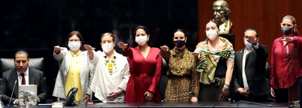 """Responsabilidad y compromiso me guiarán en Vicepresidencia del Senado"""": Imelda Castro"""
