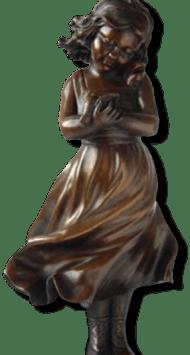 young bronze girl poem