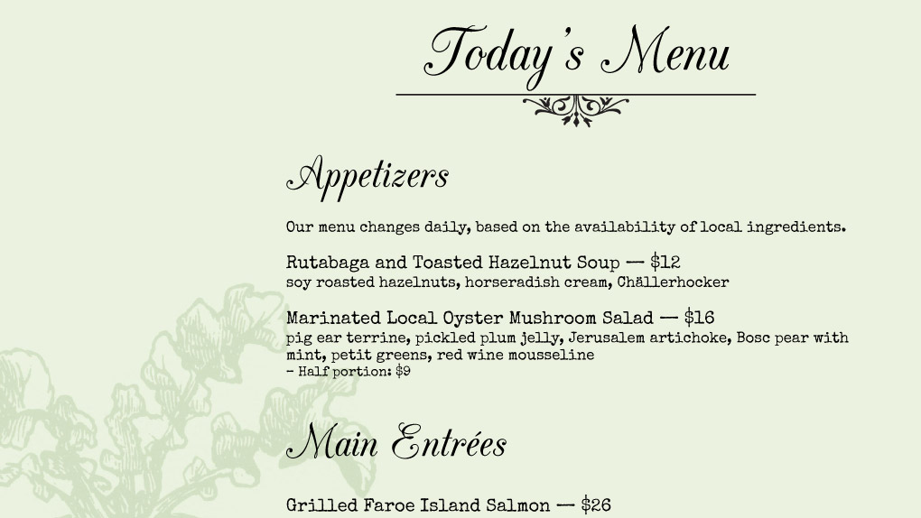 IMenuPro Restaurant Menu Maker Design And Edit Menus