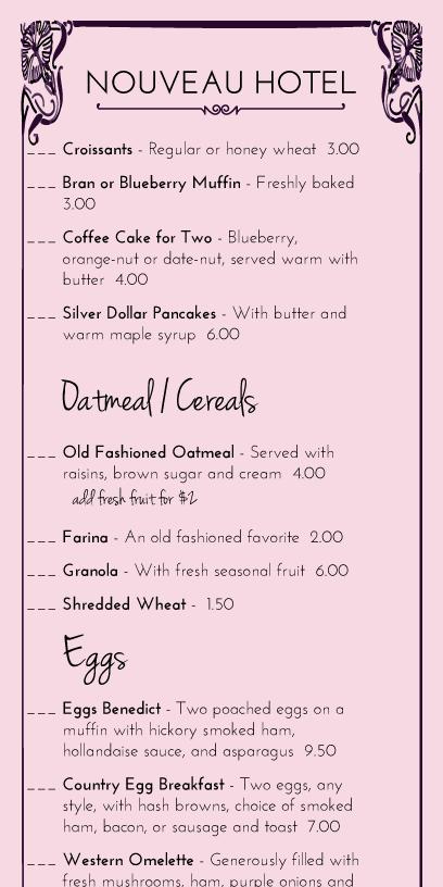 restaurant menu maker free