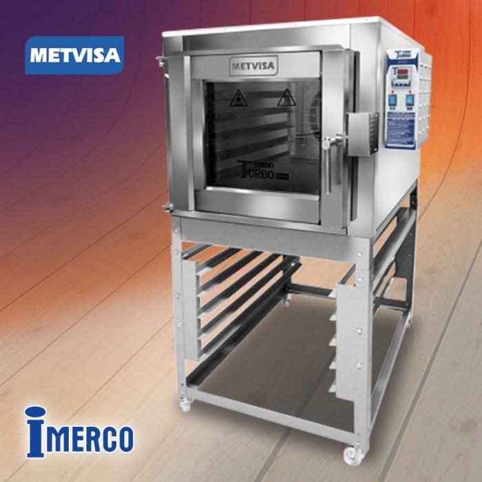 Horno Turbo a Gas FTG-150 METVISA