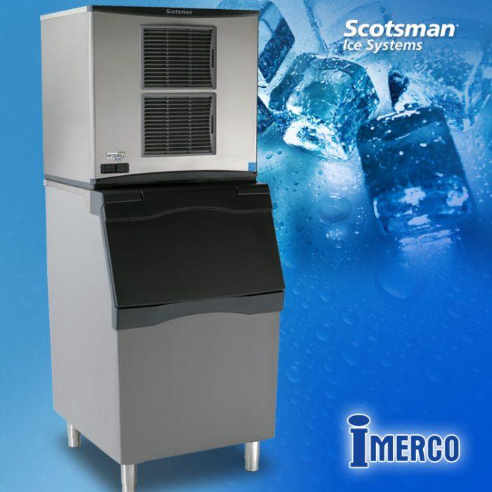 Máquina para Hacer Hielo Cubitos CO-1030-MA SCOTSMAN