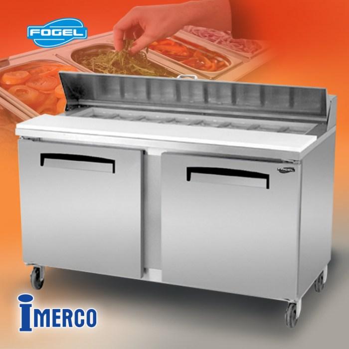 MESA DE TRABAJO Refrigerada FLP-59-16