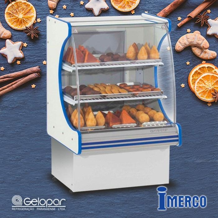 Exhibidor No Refrigerado MEQV-075 GELOPAR