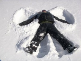 Snow Angels help promote Imerman Angels 1-on-1 Cancer Support