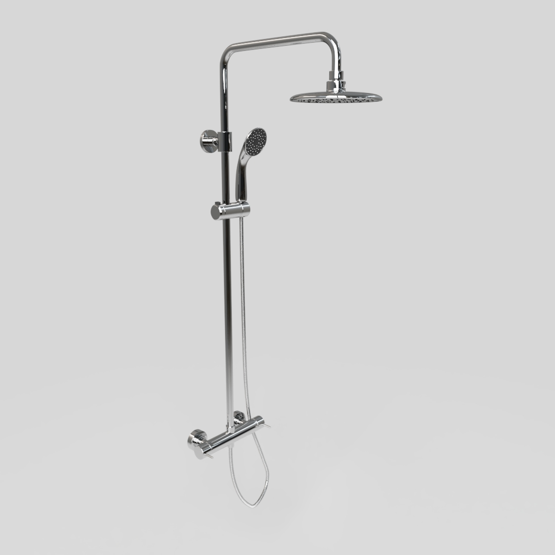 Wall Mounted Shower 1