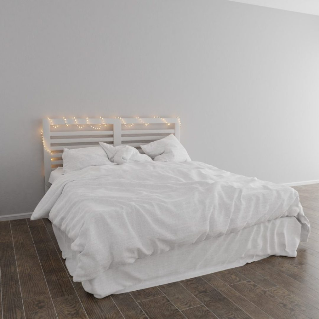 BB-0011 Scandinavian style bed 11