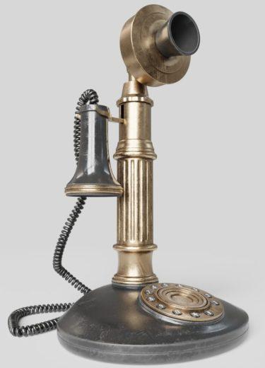 DE-0019 Industrial Telephone View2