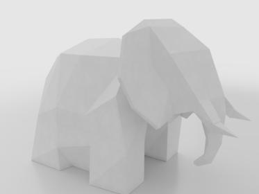DTY-0002 Elephant Lamp2