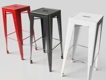 SS-0014 Industrial Stool Bundle View 1