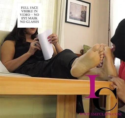 indian feet slave