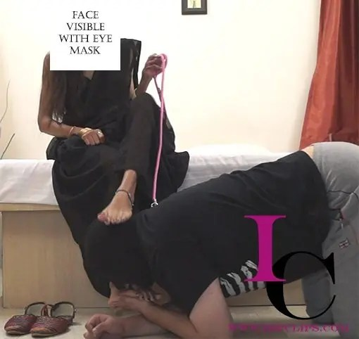 Indian Mistress Foot Licking