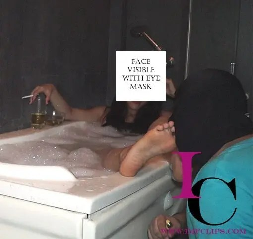 Bath Time Foot Worship