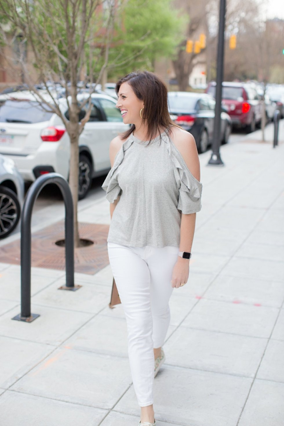 Cold Shoulder + Ruffles - I'm Fixin' To - @mbg0112