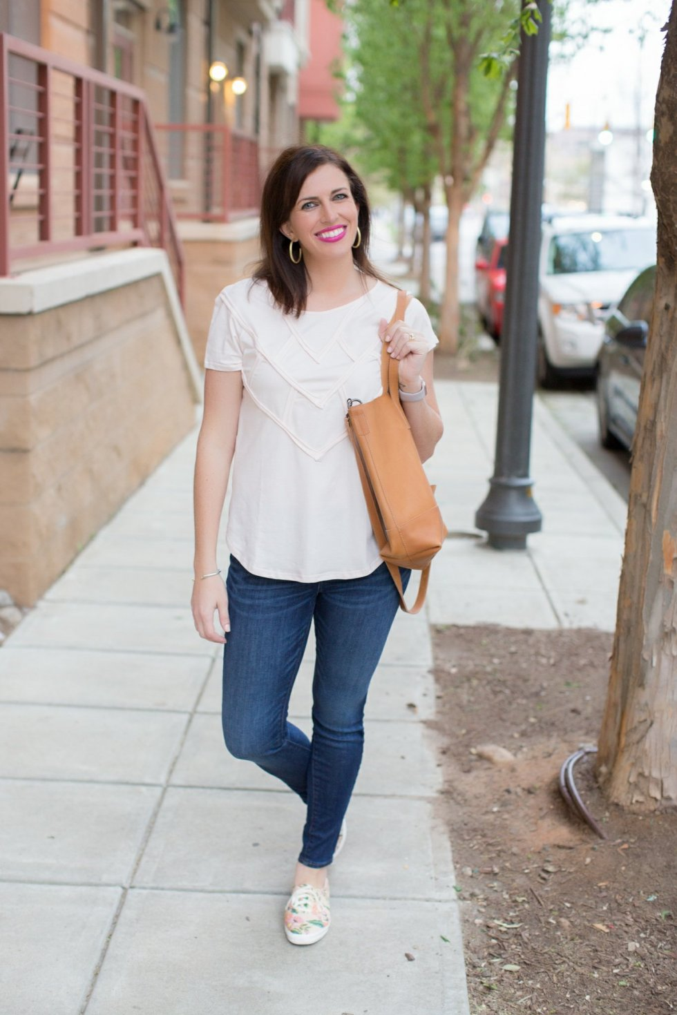 My Favorite Pink Top Styled Two Ways - I'm Fixin' To - @mbg0112