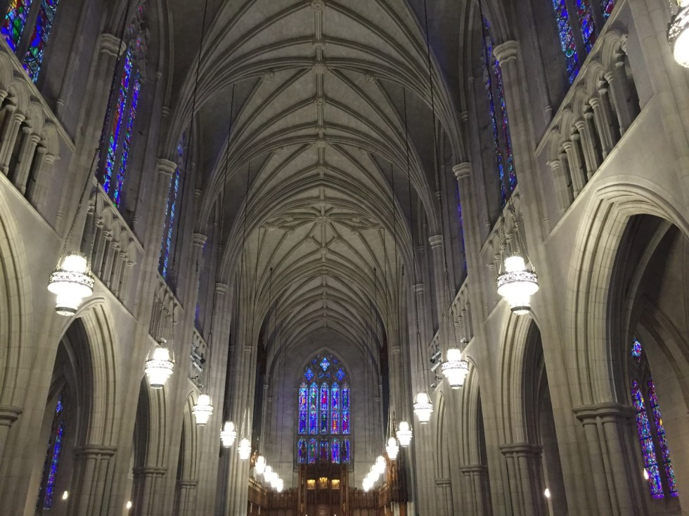 23 Awesome Things To Do in Durham - I'm Fixin' To - @imfixintoblog | Things to do in Durham by popular NC travel blog, I'm Fixin' To: image of Duke chapel.