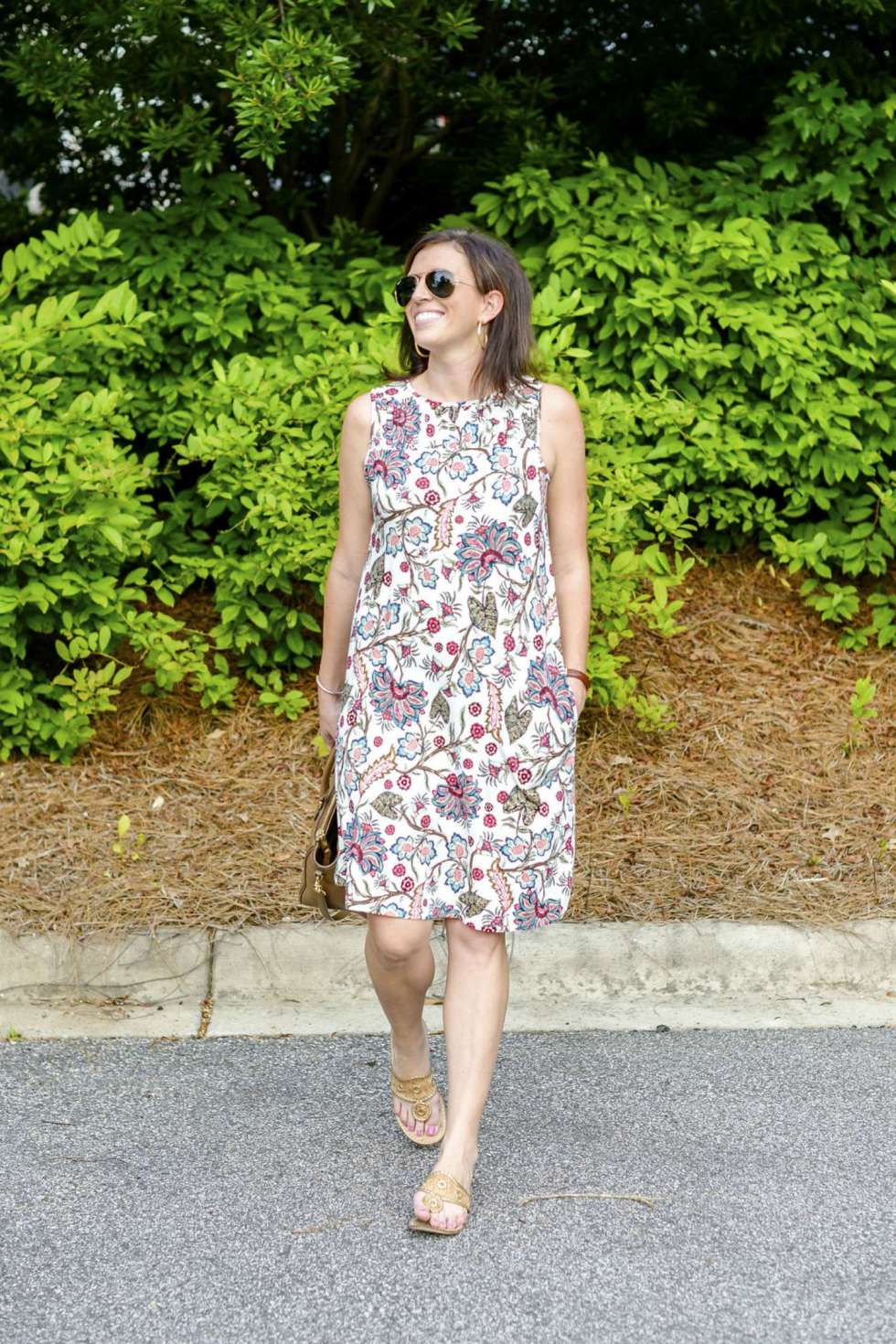 J. Jill Floral Dress for Now Through Fall - @mbg0112 - I'm Fixin' To