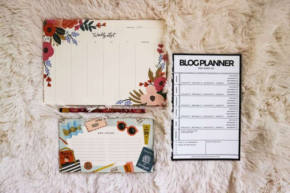 How to Create an Editorial Calendar - I'm Fixin' To - @mbg0112
