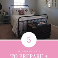 5 Ways to Prepare a Guest Room